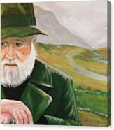 Richard Harris In The Film Called The Field Canvas Print