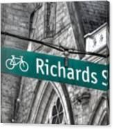 Richards Street Canvas Print