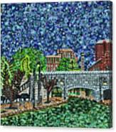 Richmond Canal Walk Canvas Print