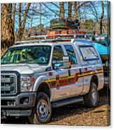 Richmond Fire And Ems Equipment 7461 Canvas Print
