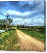 Richmond-lynchburg Stage Road, Appomattox, Virginia Canvas Print