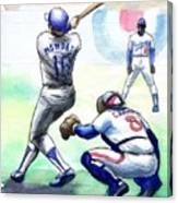 Rick Monday Canvas Print