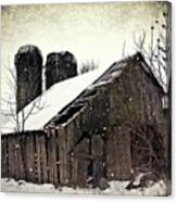 Rickety Old Barn Canvas Print
