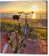 Ride Off Into The Sunset Canvas Print