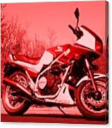 Ride Red Canvas Print