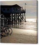 Ride Your Bike To The Beach Canvas Print
