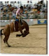 Ridem Cowboy Canvas Print