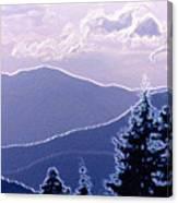 Ridge Layers 2 Pd2  Canvas Print