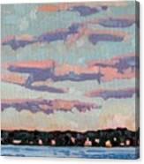 Ridge Stratocumulus Canvas Print