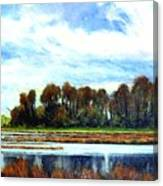 Ridgefield Refuge Early Fall Canvas Print