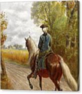 Riding Scene Canvas Print