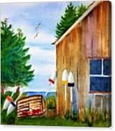 Right Next Door  Canvas Print
