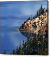 Right Side Of Crater Lake Oregon Canvas Print