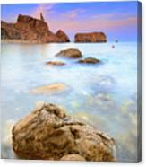 Rijana Beach Mediterranean Sea Canvas Print