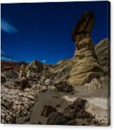 Rim Rock Toadstools Grand Staircase National Monument  Canvas Print