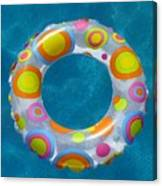 Ring In Pool Canvas Print