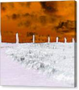 Ring Of Brodgar, Orkney Canvas Print