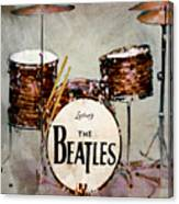 Ringo's Drums Canvas Print
