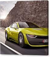 Rinspeed Etos Concept Self Driving Car Canvas Print