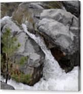 Rio Bonito Falls Canvas Print