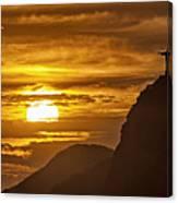 Rio De Janeiro Christ Statue Canvas Print