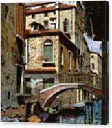 Rio Degli Squeri Canvas Print
