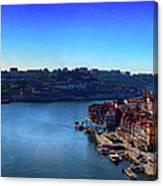 Rio Douro Canvas Print