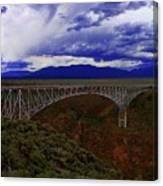 Rio Grande Gorge Bridge Canvas Print