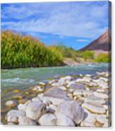 Rio Grande Hoodoos Trail Head Canvas Print