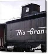 Rio Grande Rail Cars Canvas Print