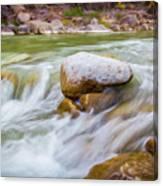 Rio Grande Rocky Flow Canvas Print