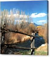 Rio Pueblo Canvas Print