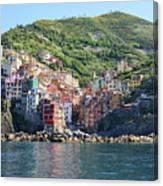 Riomaggiore 0583 B Canvas Print