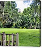 Rip Van Winkle Gardens Louisiana  Canvas Print