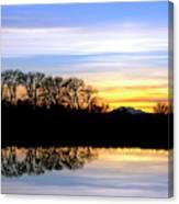 Riparian Sunset No.1 Canvas Print