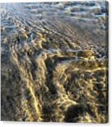 Rippled Gold Canvas Print