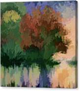 Rippled Sunset 2 Canvas Print