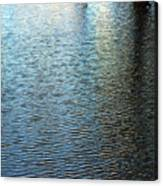 Ripples And Reflections Abstract Canvas Print