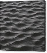Ripples And Waves From Wind Dance Canvas Print