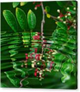 Ripples In The Mirror Canvas Print