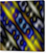 Ripples Of Color Canvas Print