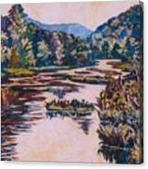 Ripples On The Little River Canvas Print