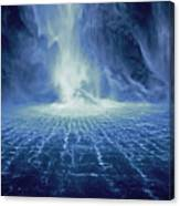 Rippling Waterfall Canvas Print