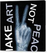 Rise Peace Canvas Print