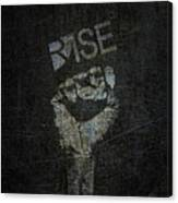 Rise Power Canvas Print