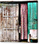 Rishikesh Door Canvas Print