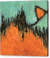 Rising Hope Abstract Art Canvas Print