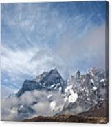 Rising Mountains Canvas Print