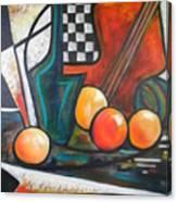 Ristorante De Madrid Canvas Print
