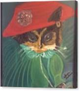 Rita Cat Canvas Print